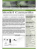 Ebook Model Camarilla