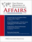 Ebook The Polish Quarterly of International Affairs 3/2013