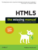 Ebook HTML5: The Missing Manual. 2nd Edition