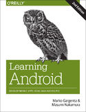 Ebook Learning Android. Develop Mobile Apps Using Java and Eclipse. 2nd Edition