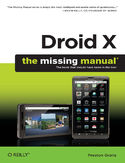 Ebook Droid X: The Missing Manual. The Missing Manual
