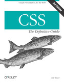Ebook CSS: The Definitive Guide. The Definitive Guide. 3rd Edition