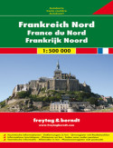 Francja Północna mapa 1:500 000 Freytag & Berndt