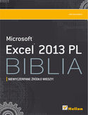 Ebook Excel 2013 PL. Biblia