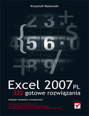 Księgarnia Excel 2007 PL. 222 gotowe rozwiązania