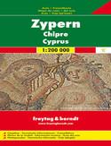 Cypr mapa 1:200 000 Freytag & Berndt