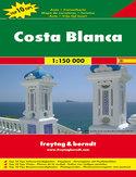 Costa Blanca mapa 1:150 000 Freytag & Berndt