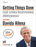 -50% na ebooka Getting Things Done, czyli sztuka bezstresowej efektywności. Wydanie II. Do końca tygodnia (29.11.2020) za