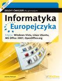 Księgarnia Informatyka Europejczyka. Zeszyt ćwiczeń dla gimnazjum. Edycja: Windows Vista, Linux Ubuntu, MS Office 2007, OpenOffice.org (wydanie II)