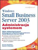 Księgarnia Windows Small Business Server 2003. Administracja systemem