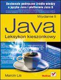 Księgarnia Java. Leksykon kieszonkowy. Wydanie II