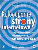 Księgarnia Kuloodporne strony internetowe. Jak poprawić elastyczność z wykorzystaniem XHTML-a i CSS