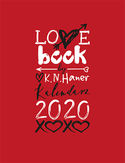 LOVE book by K.N. Haner. Kalendarz 2020