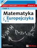 Księgarnia Matematyka Europejczyka. Zeszyt ćwiczeń dla gimnazjum. Klasa 3. Część 1
