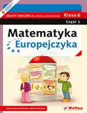 Księgarnia Matematyka Europejczyka. Zeszyt ćwiczeń dla szkoły podstawowej. Klasa 6. Część 1