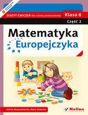Księgarnia Matematyka Europejczyka. Zeszyt ćwiczeń dla szkoły podstawowej. Klasa 6. Część 2