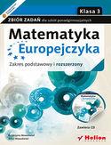 Księgarnia Matematyka Europejczyka. Zbiór zadań dla szkół ponadgimnazjalnych. Zakres podstawowy i rozszerzony. Klasa 3