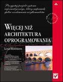 Księgarnia Więcej niż architektura oprogramowania