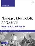 Księgarnia Node.js, MongoDB, AngularJS. Kompendium wiedzy