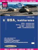 USA - Kalifornia. Mapa Reise Know-How / 1:850 000