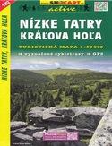 Nízké Tatry, Kráľova Hoľa, 1:50 000