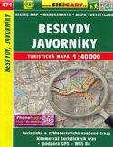 Beskydy, Javorníky, 1:40 000