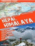 Nepal, Himalaje. Mapa Terraquest 1:100 000 / 1:150 000