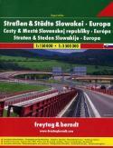 Drogi i miasta Słowacji. Atlas