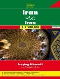 Iran. Mapa Freytag & Berndt 1:1 500 000
