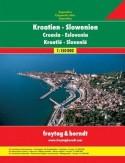 Chorwacja Słowenia. Atlas Freytag & Berndt 1:150 000
