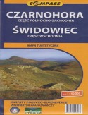 Czarnohora i Świdowiec . Mapa Compass 1:50 000