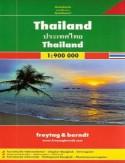 Tajlandia. Mapa Freytag & Berndt 1:900 000