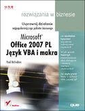 Księgarnia Office 2007. Język VBA i makra. Rozwiązania w biznesie
