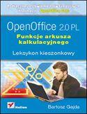 Księgarnia OpenOffice 2.0 PL. Funkcje arkusza kalkulacyjnego. Leksykon kieszonkowy