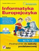 Księgarnia Informatyka Europejczyka. Podręcznik dla szkoły podstawowej, kl. IV - VI. Edycja: Windows Vista, Linux Ubuntu, MS Office 2007, OpenOffice.org