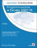 Księgarnia Programowanie w Excelu 2007 PL. Niebieski podręcznik