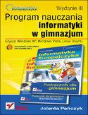 Księgarnia Informatyka Europejczyka. Program nauczania informatyki w gimnazjum. Edycja: Windows XP, Windows Vista, Linux Ubuntu. Wydanie III