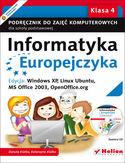 Księgarnia Informatyka Europejczyka. Podręcznik do zajęć komputerowych dla szkoły podstawowej, kl. 4. Edycja: Windows XP, Linux Ubuntu, MS Office 2003, OpenOffice.org (Wydanie II)