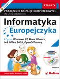 Księgarnia Informatyka Europejczyka. Podręcznik do zajęć komputerowych dla szkoły podstawowej, kl. 5. Edycja: Windows XP, Linux Ubuntu, MS Office 2003, OpenOffice.org (Wydanie II)