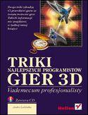 Księgarnia Triki najlepszych programistów gier 3D. Vademecum profesjonalisty