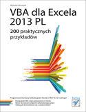 Księgarnia VBA dla Excela 2013 PL. 200 praktycznych przykładów
