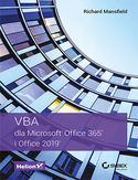 Ebook VBA dla Microsoft Office 365 i Office 2019