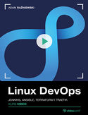 Ebook Linux DevOps. Kurs video. Jenkins, Ansible, Terraform i Traefik