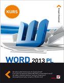 Księgarnia Word 2013 PL. Kurs