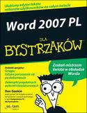 Księgarnia Word 2007 PL dla bystrzaków
