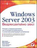 Księgarnia Windows Server 2003. Bezpieczeństwo sieci