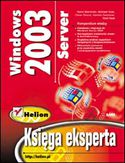 Księgarnia Windows Server 2003. Księga eksperta
