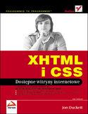 Księgarnia XHTML i CSS. Dostępne witryny internetowe