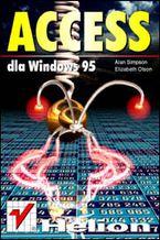 Okładka książki Access dla Windows 95