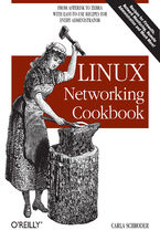 Okładka książki Linux Networking Cookbook. From Asterisk to Zebra with Easy-to-Use Recipes